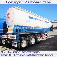 Bulk Cement Tanker Semi Trailer Factory Tongya bulk cement tanker truck trailer/bulk cement tanker