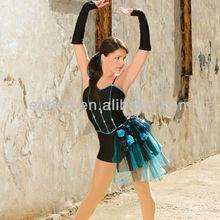 Fashion girls jazz dancing costumes/performance set costumes/latin jazz dance costume EPJ-008