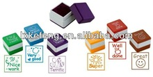 Lovely style stationery toy stamp for kids