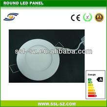 High Brightness SMD2835 Round 120x14mm 6W LED Panel