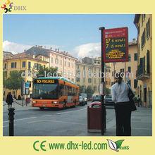 P7.62 led taxi/car/bus top sign