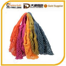 cheap custom eco-friendly cotton net shopping bag wholesale 2014