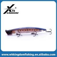 90mm/7.5g 123mm/18.5g Popper Fishing Lure 3D Eyes For Fishing Lure