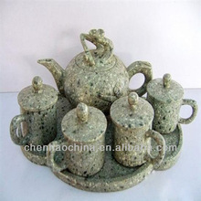art tea set medical stone (laizhou shandong china)