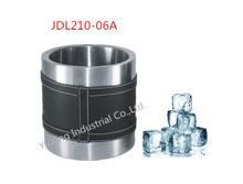 beer ice bucket leather ice bucket