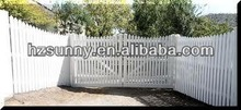 pvc fence of picket outdoor