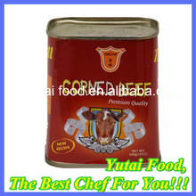 Ready to Eat OEM Brands Beef Products in Tin