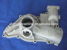 China alloy cast aluminum body pump set casting and foundry