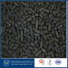 2mm Extruded Column Activated carbon for benzene removal