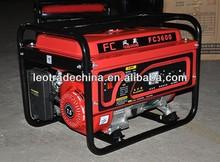 small gasoline generator for backup power for incubators