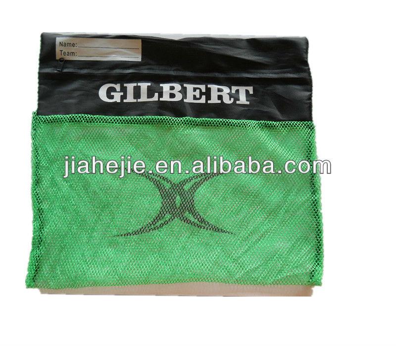 Snorkel Gear Bag Custom Green Swimming Gear Bag Mesh Bag