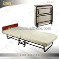 Baratos h-002 antiguos de metal plegable cama king/cuna plegable