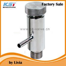 3A ss304 threaded sampling valve