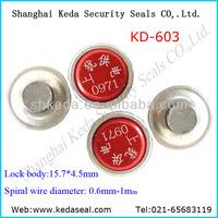 Electric meter seal KD-603 gas meter security seals