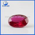 أعلى جودة الماس بيضاوية الشكل الاحجار الكريمة والمجوهرات روبي