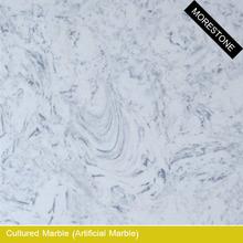 White Culture Marble Tub Surround & Shower Surround Panel