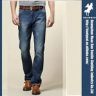 China jeans manufacture 2014 fashion designer brand trousers model men