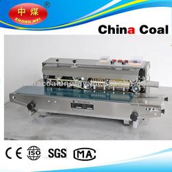FRD-1000W heat sealing machine /band sealer with ink printer