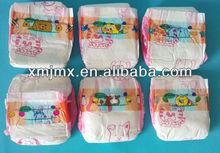 soleado mejor super suave de alta calidad y mimado de absorción de los pañales para bebés al por mayor