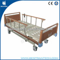 Bt-ae 106 color madera cabecera/estribo antiguo hospital cama de hierro