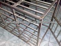 decorative modern galvanized aluminium animal cages for pet (manufacture)