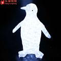 الرقص البطريق مع ضوء led