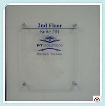 clear acrylic logo display,square acrylic logo display,acrylic signboard