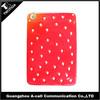 Silicone for ipad mini case/ cute strawberry case for girls