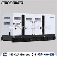 China manufacturer 450kva Silent cummins water cooled engine diesel generator
