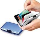 2013 New Popular Aluma Hot Sale Metal Aluminum Wallet for Business Credit Card holder