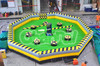 Inflatable Meltdown Zone/inflatable sports games