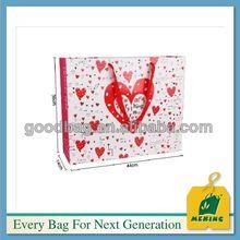 sacchetto di carta di carta sacchetto 250gsm arte, MJ-PP0341-Y, China Manufacturer