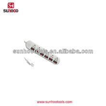71-100-21 American plug sockets 3-pin plug socket