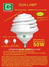 good quality 50W sun lamps fluorescent light fitting