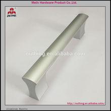 2014 furniture hardware 96mm 128mm 160mm 192mm fancy aluminium handle