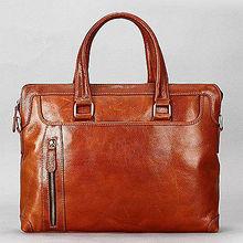 trending business bag leather file case men's handbag leather case fashion tote bag M3064