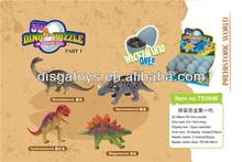 2014 new plastic dinosaur egg decorations