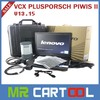 VCX PLUS ALLSCANNER professional tester tool with laptop with software Support Multi Language Piwis Tester II for PIWIS In Stock