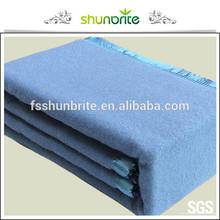 50% wool 50% polyester hotel blanket