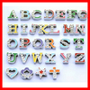 2014 newest 8mm colour letter slide charms