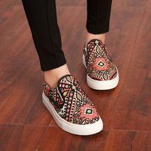 Wholesale Fashion Ladies Canvas Shoes