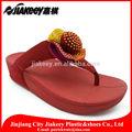 la novedad suave cómodo y barato saludable divertido floral paño grueso y suave terciopelo zapatillas de baile zapatos
