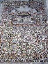 MA011 Fashion new PU Prayer Mat Golden color thread muslim prayer mat