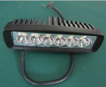 black,whiteHot sale 6.3inch 18w,Cre Led Car Light, Led Light bar Off road,auto led light arch bent,SS-1005