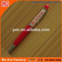custom plastic liquid filled pen