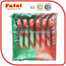 7gx6pcs Sherbet christmas gift transparent candy cane powder candy