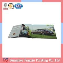 Lamination CMYK Art Paper Saddle Stitching Book Printing