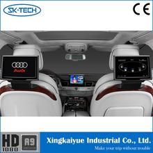 10inch headrest rear seat car pillow tft lcd monitor for Audi/ Cadillac/ Jaguar