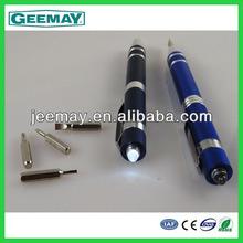 pen shaped mini screwdriver magnetic measuring tool pen