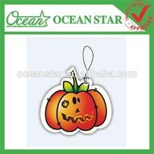 Halloween Make hanging paper car air freshener